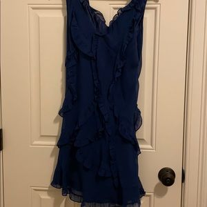 BCBG navy/royal blue cocktail dress